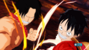 Luffy and Ace Team Up in Unlimited World Red