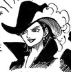 Mihawk as a Female