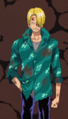 Tercera vestimenta de Sanji en la película 2