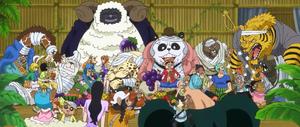 Tribu des Minks Anime Infobox