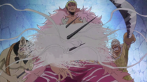 Abdullah and Jeet vs Clone Doflamingo