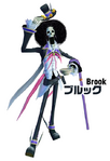 Brook One Piece Unlimited Cruise Outfit