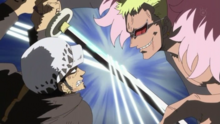 Doflamingo VS Law