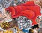 Eustass Kid Post Timeskip Color Scheme