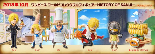 History of Sanji