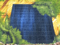 Poneglyph de Skypiea