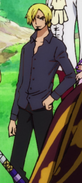 Sanji's Second Wano Country Arc Outfit