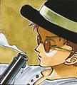 Gill Bastar coloré manga