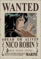 Nico Robin Avis de Recherche Post Enies Lobby
