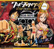 One Piece Styling Figures Jump Festa 2009