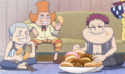 Charlotte Triplets Boyhood anime