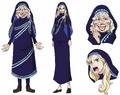 Concepto de Carmel en el anime