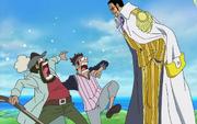 Kizaru Asks Pirates