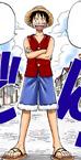 Luffy Digitally Colored Manga