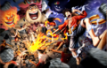 Luffy contre Big Mom dans One Piece Pirate Warriors 4