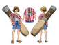 Monkey D. Luffy Film 14 Tenue 1