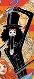 Tercera vestimenta de Brook en Film Gold manga