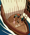 Barca de Danny Denny y Donny