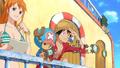 Hard Knock Days Nami, Chopper et Luffy