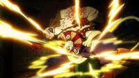 Kamijiro colpisce Holdem