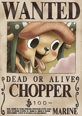 Tony Tony Chopper's Current Wanted Poster