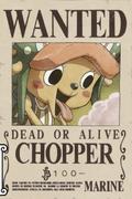 Tony Tony Chopper's Current Wanted Poster