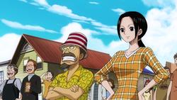 Départ de Luffy Anime
