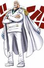 Garp in Digitally Colored Manga
