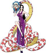Hancock & Salome Anime Concept Art