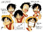 Luffy i jego buzia
