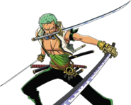 Zoro's Outfit in One Piece Unlimited Adventure