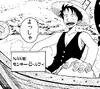 Luffy en Romance Dawn V.1