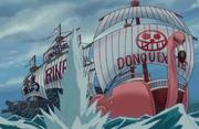 Tsuru Chases Donquixote Pirates