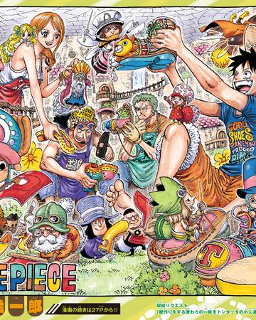 Chapter 976 One Piece Wiki Fandom