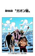 Coloreado Digital del Capítulo 495