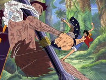 Luffy vs. Wyper