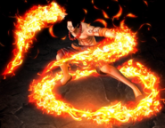 One Piece Burning Blood Fire Fist Portgas D. Ace (Artwork)