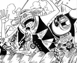 Saruyama Alliance Post-Timeskip Manga Infobox
