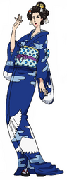 Tsuru (Wano) Anime Concept Art
