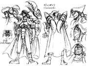 Oda sketch Ganzack