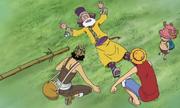 Chopper, Luffy, dan Usopp Bertemu Tonjit