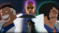 Garp, Zephyr et Sengoku