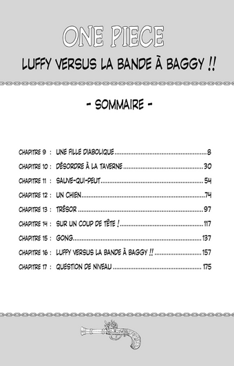 Sommaire Tome 2