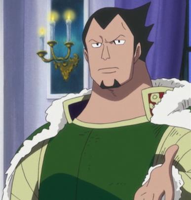 Dalton as Wapol's Father's Adviser