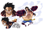 Gear Fourth design anime