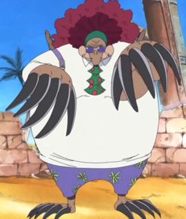 Mogu Mogu no Mi Forme Hybride Anime Infobox