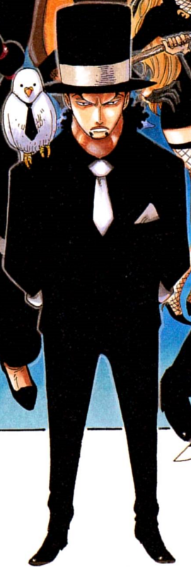Rob Lucci Manga Debut Infobox