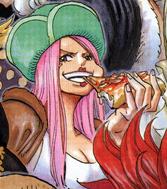 Jewelry Bonney's Manga Color Scheme Pre Timeskip