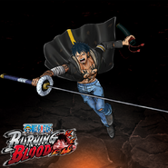 One Piece Burning Blood Dual Trafalgar Law (Artwork)
