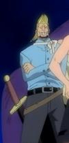 Apariencia inicial de thatch en el anime